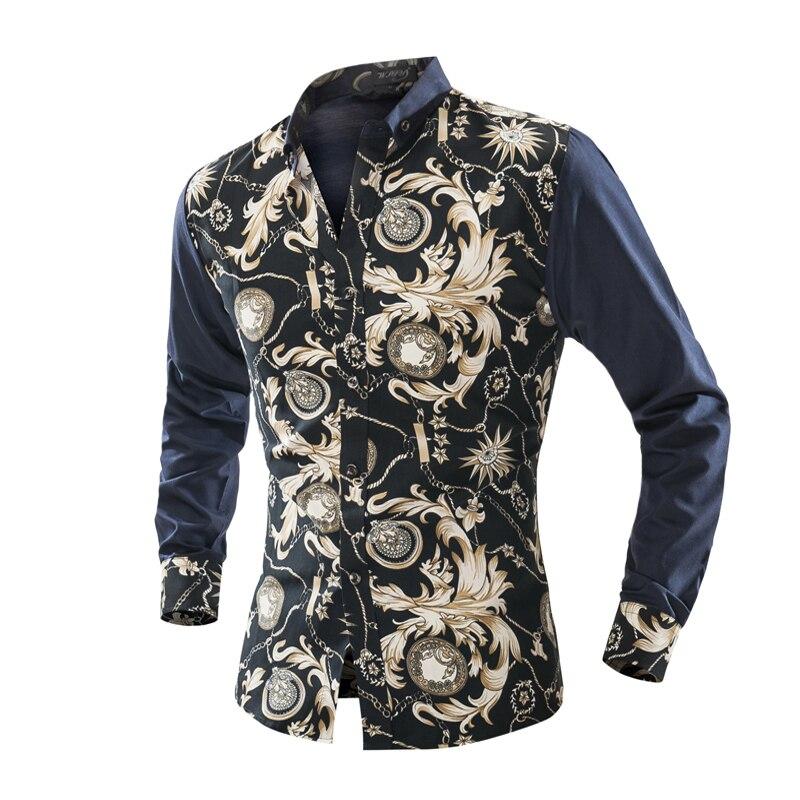 Moška majica s kratkimi rokavi Camisa Masculina Moška majica s - Moška oblačila - Fotografija 2