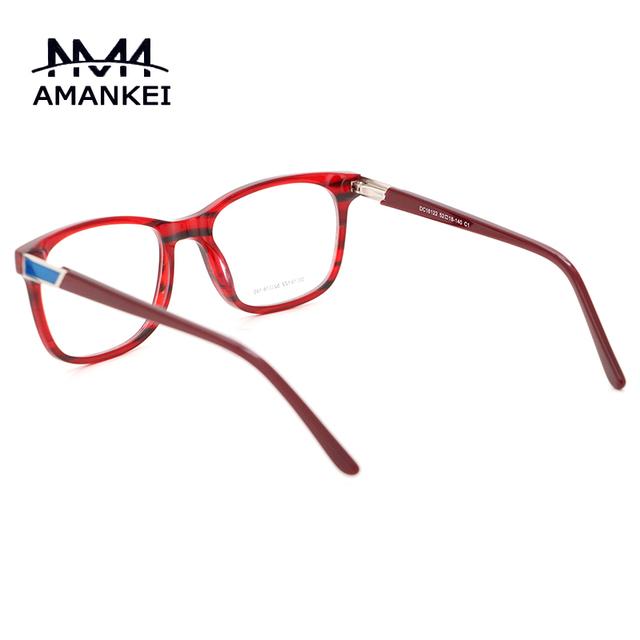 Tiras de moda Retro Homens Óculos De Acetato de armações de Óculos Ópticos Mulheres óculos de Lente Clara Óculos de Grau Quadros Eyewear DC16122