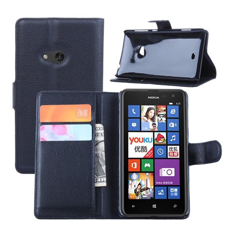 Flip Leather Case Cover For Nokia Lumia 630 635 636 638