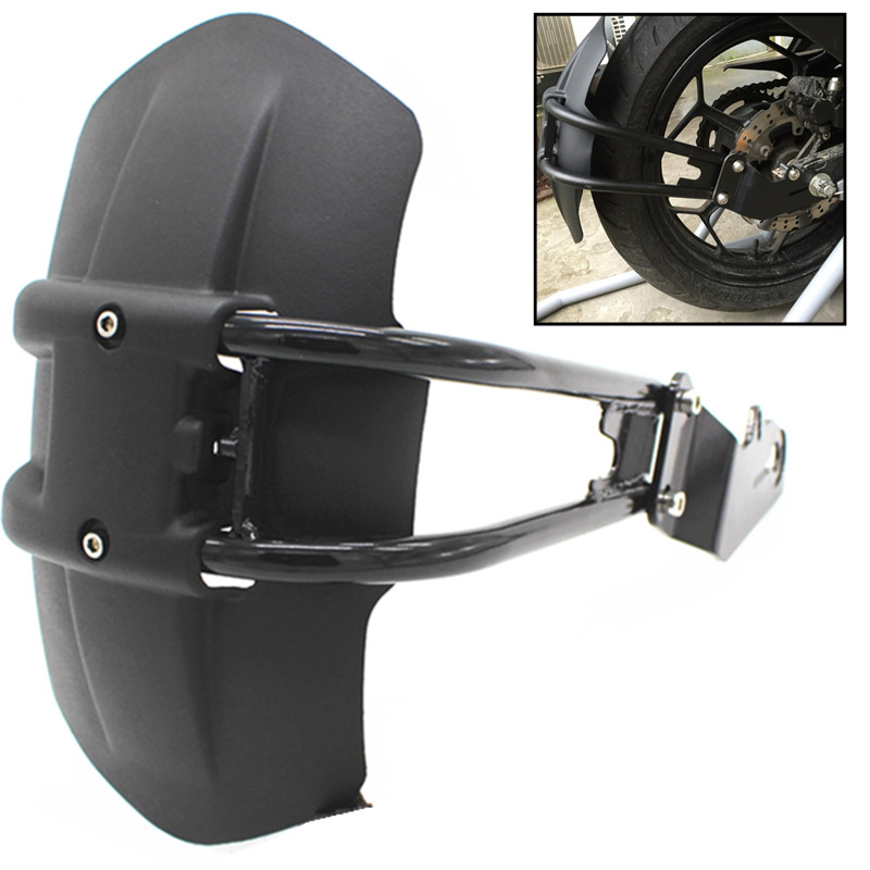 CNC Aluminum Motorcycle Accessories rear fender bracket motorbike mudguard For Honda CB500F CB500X Rear fender cnc aluminum rear wheel tire fender mudguard block for honda msx125 2013 2015 motorcycle rear fender