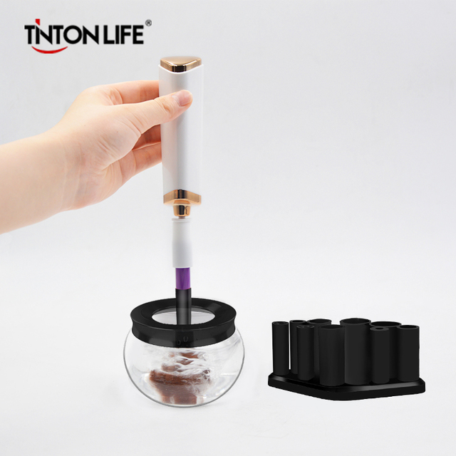 TINTON LIFE Makeup Brushes Cleaner Convenient Silicone Cleaning Tool Machine Personal Care Appliance Accessories