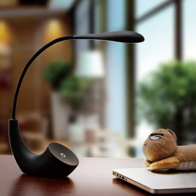 Hiliwon Portable Led Desk Lamps Usb Port Rechargeable Reading Light Touch  Sensor Table Book Light