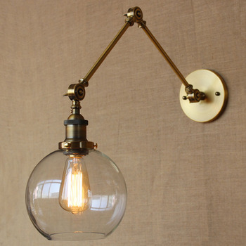 American Country Style Industrial Retro Wind Wall Lamp Balcony Light Aisle Light Coffee Shop Light Free Shipping