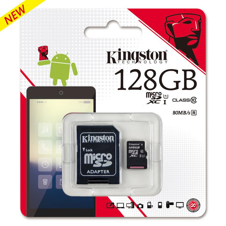 buy new kingston micro sd class 10 80m s memory card 16gb 32 gb 64 gb 128 gb. Black Bedroom Furniture Sets. Home Design Ideas
