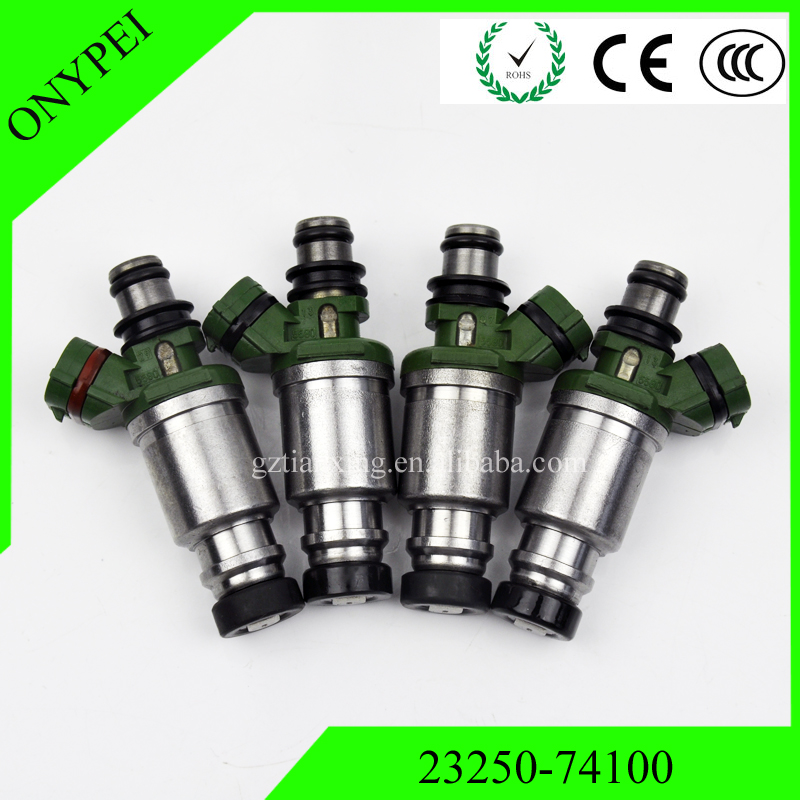 4 pcs 23250 74100 23209 74100 Fuel Injector For Toyota Celica Camry 92 01 2