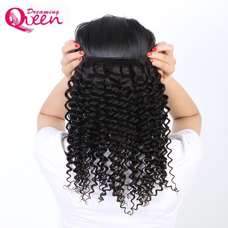 Бразильський Глибока хвиля Волосся - Людське волосся (чорне) - фото 3