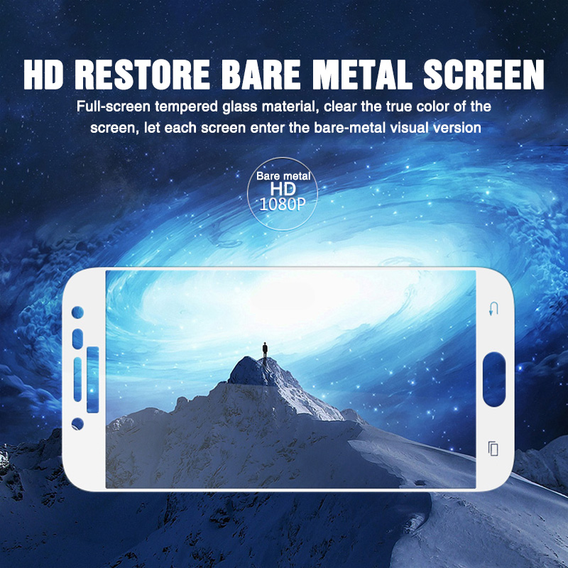 Image 5 - 15D Full coverage Tempered Glass For Samsung Galaxy J3 J5 J7 2017 2016 J4 J6 Plus 2018 on J5 J6 2017 pro Screen Protector Glass-in Phone Screen Protectors from Cellphones & Telecommunications