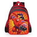 Cool printing 3D cartoon children's school backpack Big volume student personality shoulder bags Heroes mochila bookbags for boy