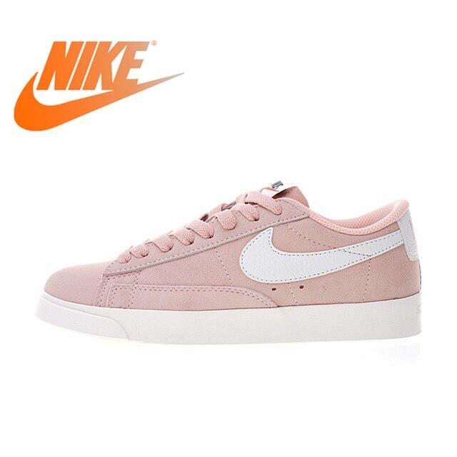 59abd25567 US $164.7 |Original Authentic Nike Wmns Blazer Low Premium Women's  Comfortable Skateboarding Shoes Sport Sneakers Balanced Light AA3962 605-in  ...