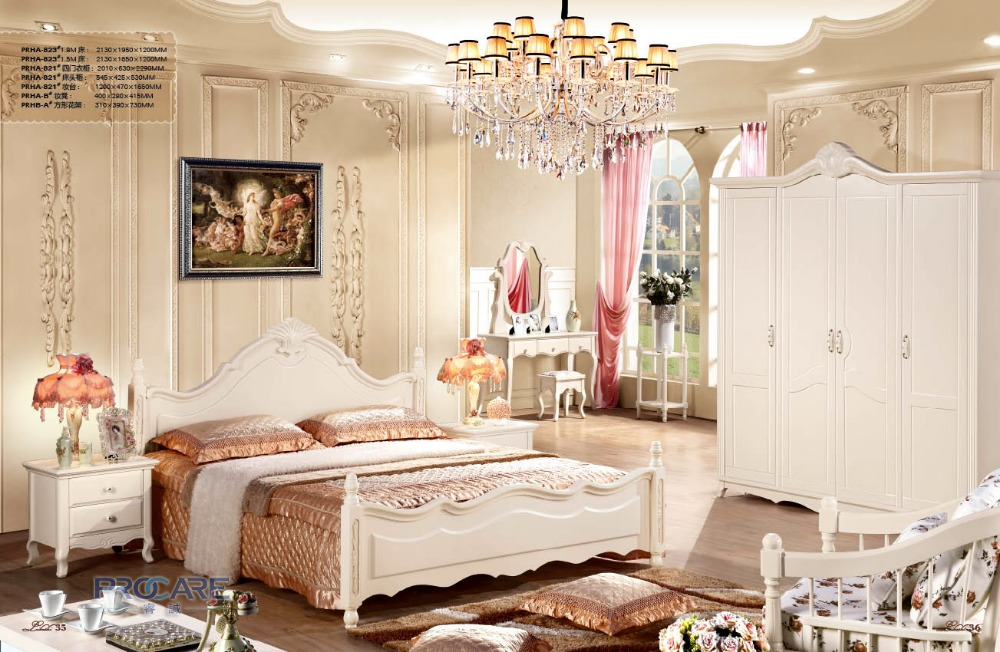 Best Price Modern Furniture Designers For Bedroom Set With Bed,4 Doors  Wardrobe,Beside Table,Dressing Table And Flower Stand