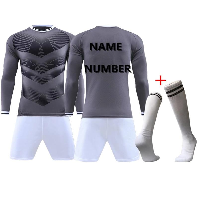 Hombres jersey de fútbol 18 19 soccer jersey personalizada nombre de su  nombre Alta Calidad respirable 18 19 QD 002 en Fútbol americano conjuntos  de ... 1ad54942a0067