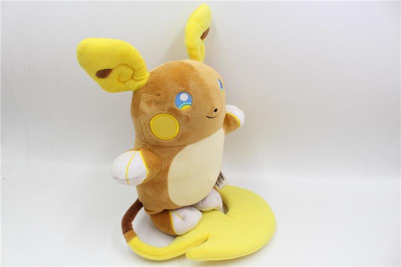 "New Pokemon Tomy Raichu Soft Official 10/"" Plush Toy"