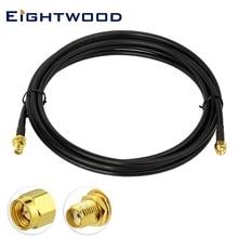 Eightwood SMA мужчин и женщин использовать KSR-195 кабель 30 футов совместим с 4G маршрутизатор сигнала телефона SDR/ADS-B приемник радиопередатчик