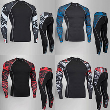 Muscle Men 3D Prints Compression Shirts T-shirt Long Sleeves Thermal Under Top MMA Rashguard Fitness Base Layer Weight Lifting men mma boxing shorts compression pants rashguard fitness long sleeves base layer skin tight men t shirts