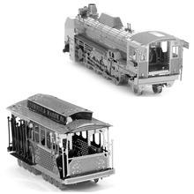 DIY Touring Car 3D Metal Model Miniature Sculpture Jigsaw Puzzle Desk Ornament 3D Puzzle DIY Model Beautiful Word Search Puzzles