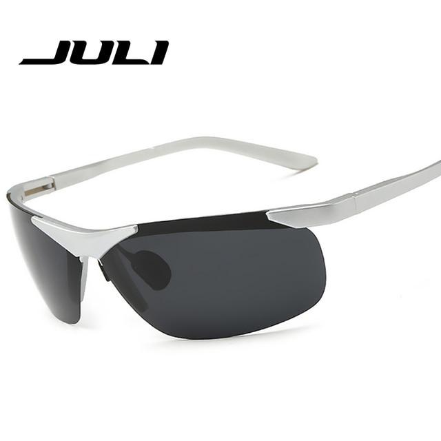f044f10aa74 JULI EYEWEAR New Brand Fashion Polarized Sunglasses Men Travel Sun Glasses  For Driving Golfing Eyewear Gafas