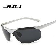 JULI GAFAS de Nueva Marca de Moda gafas de Sol Polarizadas Hombres Viajan Gafas de Sol De Conducción Gafas Gafas de sol Gafas De Sol de Golf