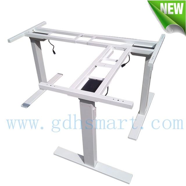 L pieds lectrique bureau r glable en hauteur cadre - Pied de table reglable en hauteur ...