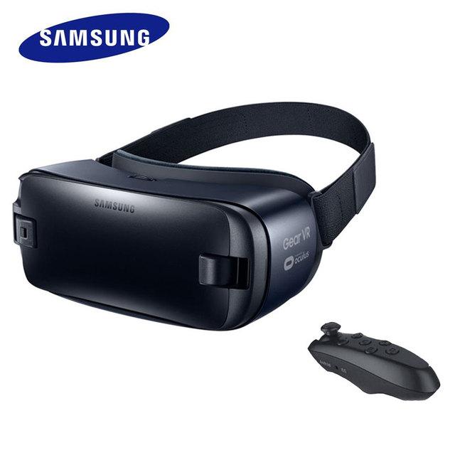Gear4 reall con touch pad versión vr 3d glasses para samsung galaxy note7, Note5, S6, S6 Edge +, S7, S7 Borde + Control Remoto Inalámbrico