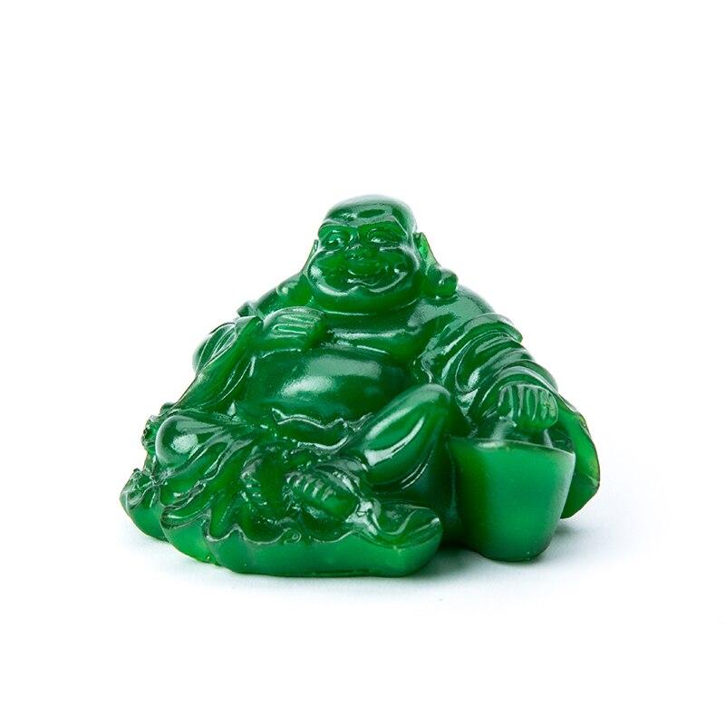 Thee Play Speelgoed Jade Standbeeld Boeddha Beeldje Feng Shui Thee Huisdier Voor Thee Set Decoratie Thee Play Speelgoed Thuis Bureau Decor Ornamenten K011-1