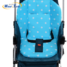 лучшая цена Baby Stroller Seat Cushion Pushchair High Chair Pram Car Soft Mattresses Baby Carriages Seat Pad Stroller Mat Accessory