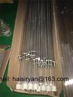 short wave Infrared transparent quartz heater tube 200W