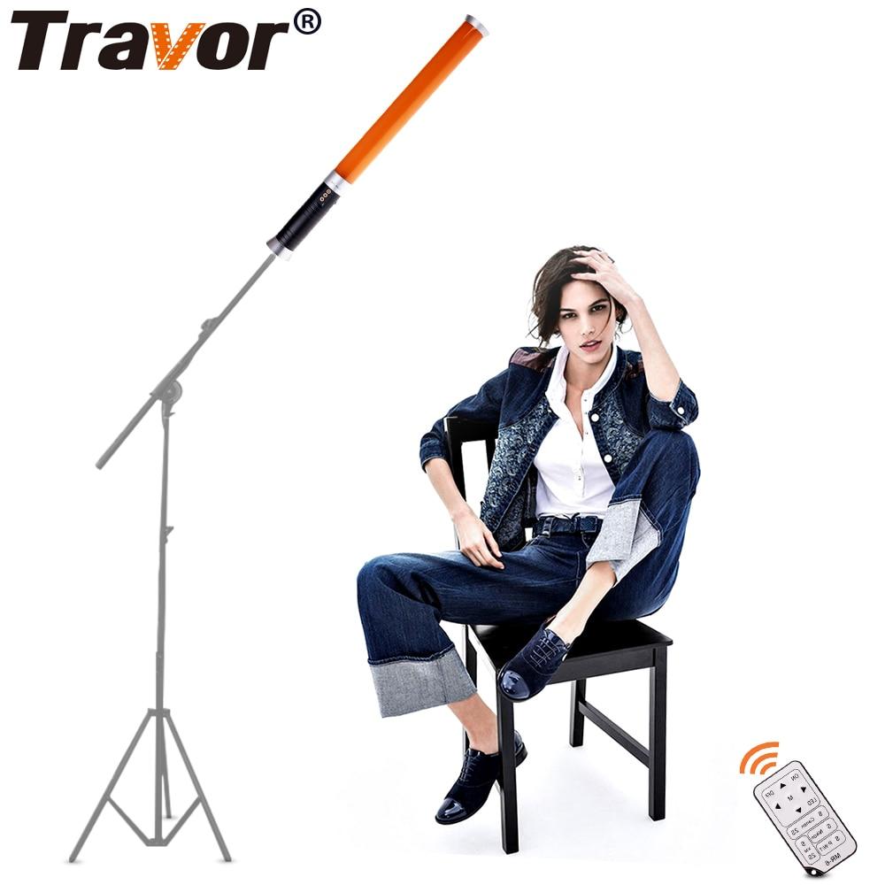 Přenosná ruční kamera Travor Photo 298 LED 3200 / 5600K Magic Tube Light MTL-900II pro fotografické osvětlení  t