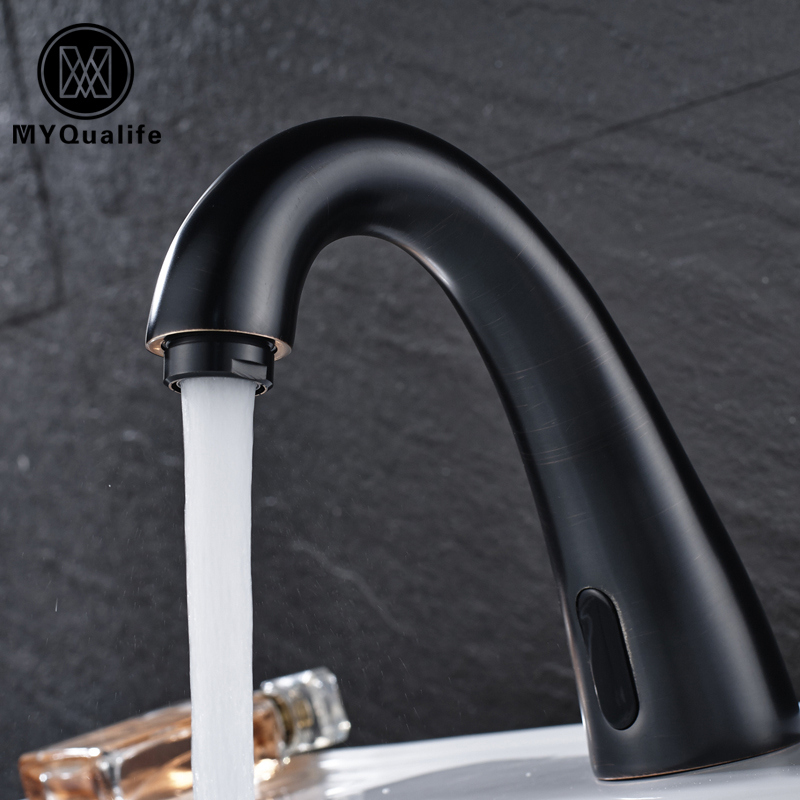 Wholesale And Retail Basin Tap Black Color Sense Faucets Only For Cold Water Free Touch Bathroom Faucet pastoralism and agriculture pennar basin india
