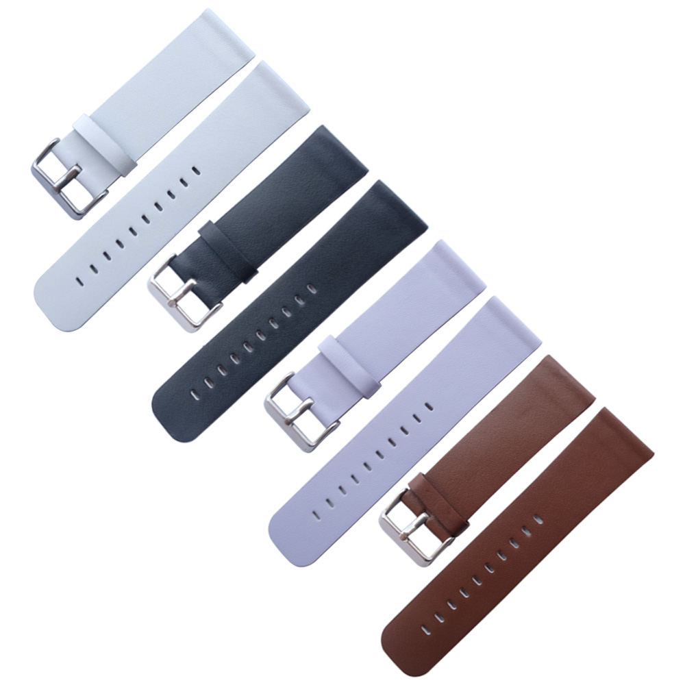 Genuine Leather Watchband 24mm +Tool for For fossil DS DZ7313/7322/7257 Watch Band Wrist Strap Steel Buckle Bracelet