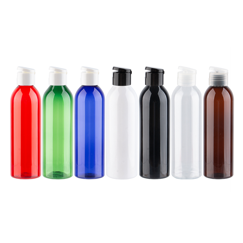 Plastic bottle transparent with cap