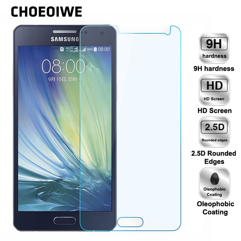 CHOEOIWE Front Tempered <font><b>Glass</b></font> for <font><b>Samsung</b></font> Galaxy A5 2015 A500 A500f 2016 A510 A510F 2017 <font><b>A520</b></font> Screen Protectors Protective Film image