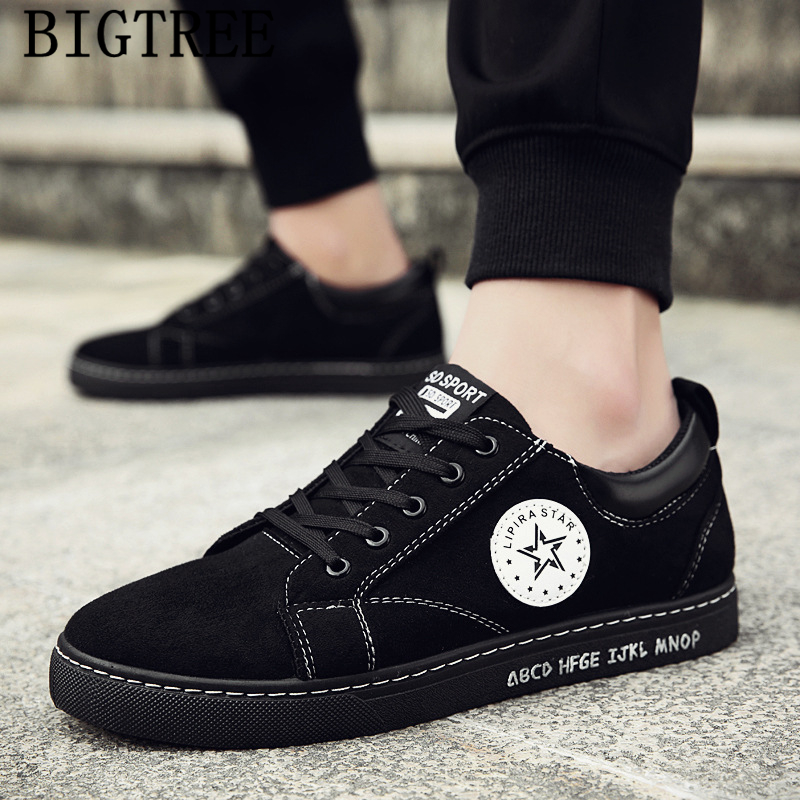 Black Shoes Men Casual Snow Boots Men Winter Boots Leather Sneakers Ankle Boots Men Shoes Luxury Brand Designer Shoes Ayakkabi