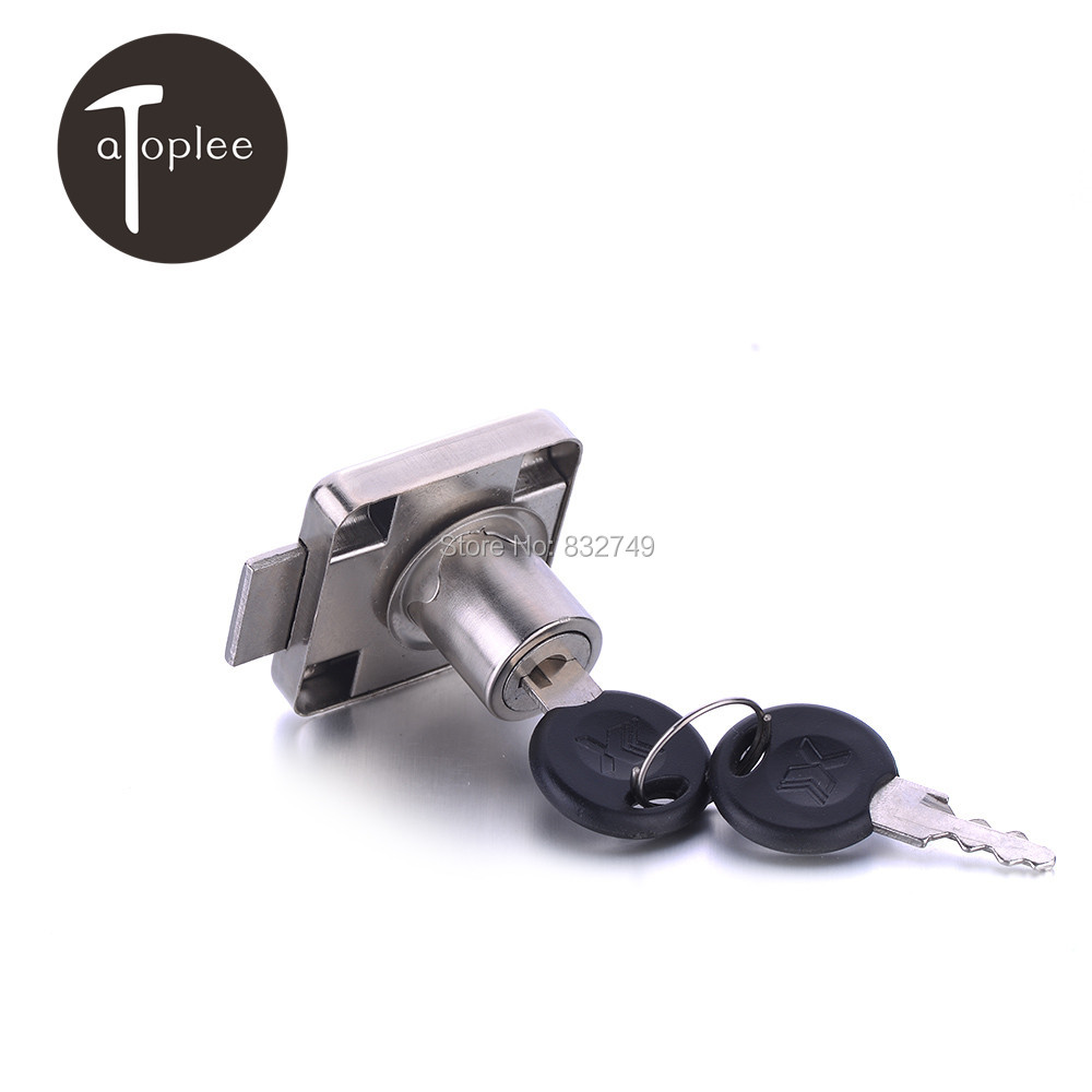 1/2PCS Locks with Two Keys For Cupboard Drawer Mini Lock for Mailbox Drawer Cupboard Protect your Secret
