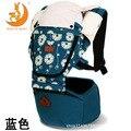 Coreano ombros cintura segurando infantil do bebê cadeira de fezes cintura portador de bebê respirável cinta pacote Ms. bolsa de Bebê FRALDA