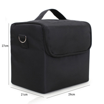 High Quality Professional Makeup Cosmetic Bag Large Capacity Storage case Multilayer Suitcase 5
