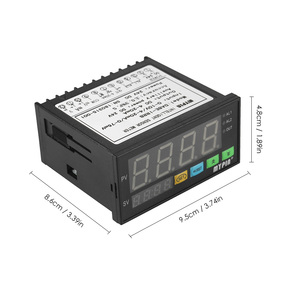 Image 3 - Multi functional DC 24V Digital LED Display Sensor Meter with 2 Relay Alarm Output and 0~10V/4~20mA/0~75mV Input