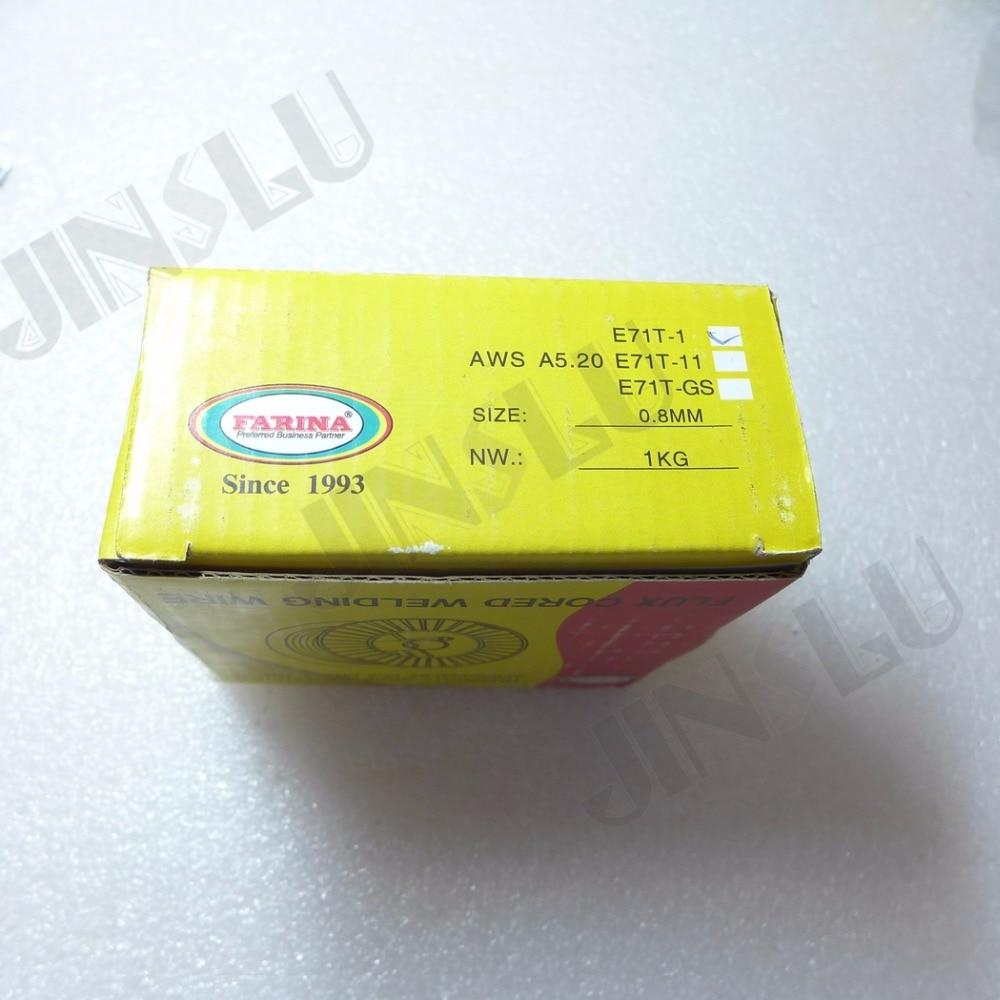AWS E71T 1 Mig schweißen Fülldraht 1 KG 0,8mm in AWS E71T-1 Mig ...