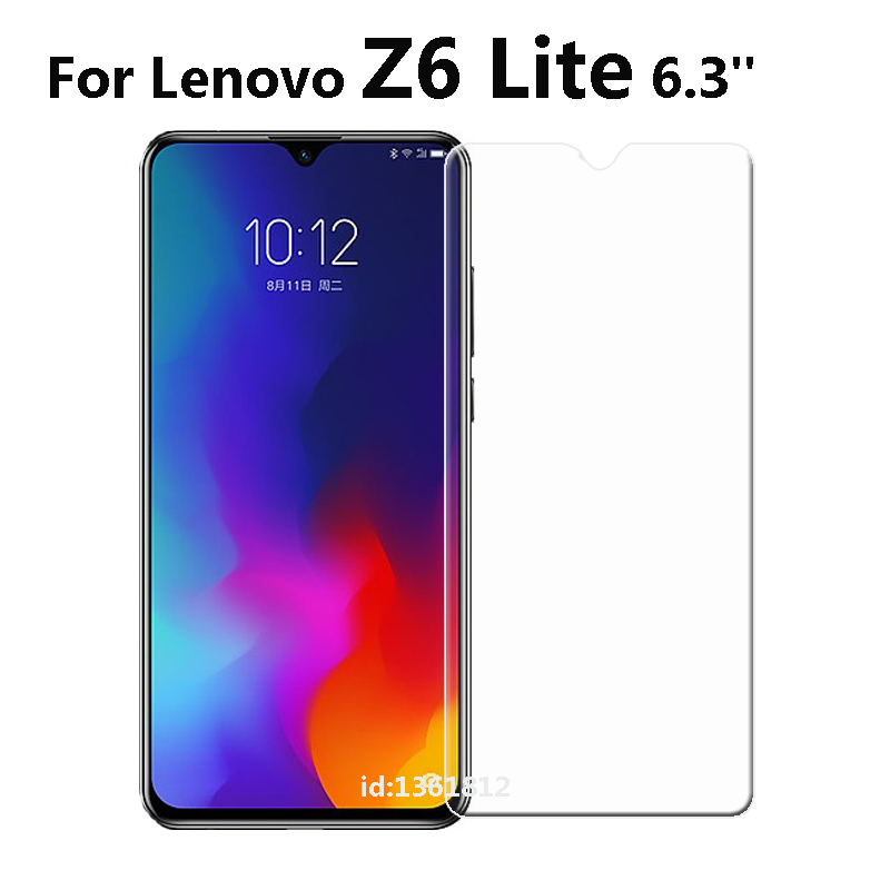 Lenovo Z6 Lite Tempered Glass 9 H High Quality Screen Protector Protective Film Phone Cover For Lenovo Z6 Lite 6.3 inch