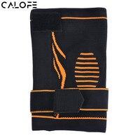 CALOFE Sports Knee Pads Elastic Bands Brace Support Basketball Soccer Pressure Strengthen Protector Bandage Sport Protective