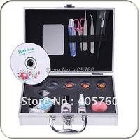 Professional Fake Eye Lash False Eyelashes Glue Eyelash Extension Kit Full Makeup Tool Set With Case