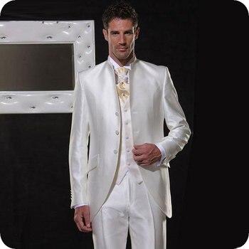 Blanco Fit Boda Blazer Hombre Slim Para Italiano Vintage Hombres fBqcapPxw