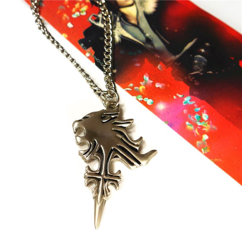 Final fantasy viii squall griever pendant necklace new hot in chain final fantasy viii squall griever pendant necklace new hot in chain necklaces from jewelry accessories on aliexpress alibaba group aloadofball Image collections