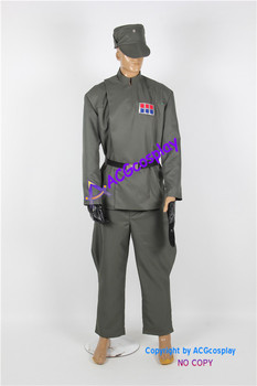 Star Wars Imperial Officer Cosplay Costume include hat ACGcosplay super hero costumes custom-made costume