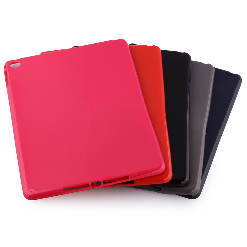 New Slim Soft Silicon Rubber TPU Gel Protector Shell Cover Tablet Protective Pouch Sleeve Case For Apple ipad air 2 ipad 6 9.7 2017 silicon slim soft tablet case for ipad air 1 rubble protective funda cover for apple ipad air 1 2 for ipad 5 6 case capa