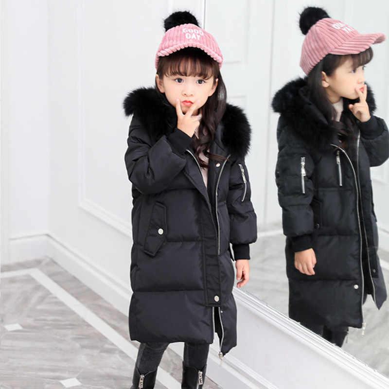 dd74682dd6c6 ... Down Jacket For Girl   Boy Winter Jacket Girls Children Boys Down Coat  Fashion Thick Warm ...