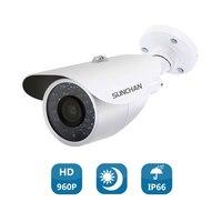 SunChan CCTV Camera CMOS 1200TVL IR Cut Filter 1MP AHD Camera 720P Outdoor Waterproof Bullet Home