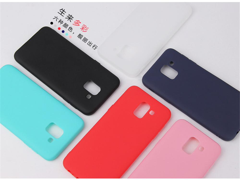 Ultra Thin Cell Phone Case For Samsung Galaxy S6 S7 Edge S8 S9 Plus S8Plus S9Plus soft TPU Silicone Back Cover _01