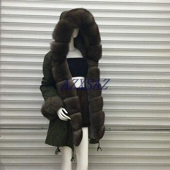 fur coat parkas winter jacket coat women parka big real raccoon fur collar natural fox fur liner long outerwear long style wam hooded women s winter jacket fashion patchwork real fur collar coat for women cjzwt000022