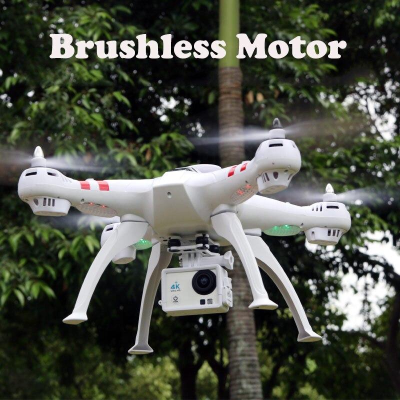Quatre-axe haute-définition caméra X16 4 K caméra RC Hélicoptère FPV Quadcopter Moteur Brushless RTF Automatique Retour planant Drone