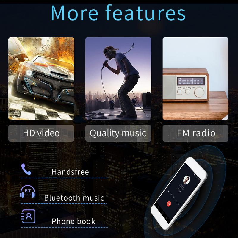 Android 8.1 System 16g Memory Touch Screen 7 Inch Hd Car Bluetooth Mp5 Player Button 2 Din Universal Gps Navigation Wifi #3